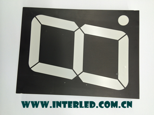 seven segment digital display